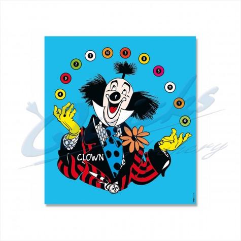 Target Face : Clown Novelty Face : KT45Novelty FacesKT45