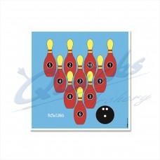 KT47 Bowling Ball Novelty Target Face