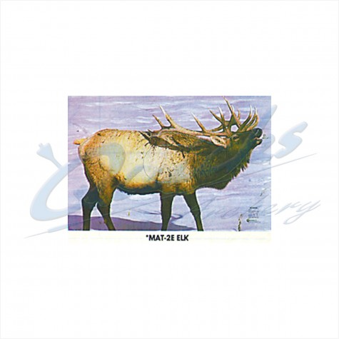 Martin Field Face : Elk : MAT2EAnimalMAT2E