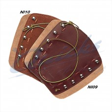 NI09 Neet Traditional Lace Up Bracer (Tan)