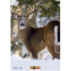 NT17 Deer Quartering Left Target Face 28 x 40 inches