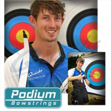 Podium Bowstrings : Custom Made 8125G Recurve Strings Twin Colour : PD10