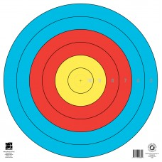 Waterproof Target Face by Maple Leaf 80cm size 10-5 zones only (each) : PT75