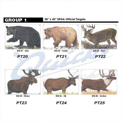 Maple Leaf NFAA Animal Face Group 1 Size 28AnimalML1
