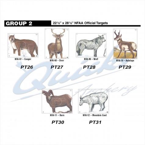 Maple Leaf NFAA Animal Face Group 2 Size 22.5AnimalML2