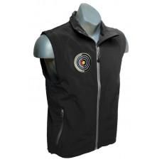 QC90 Softshell Vest with archery logo : Colour Black