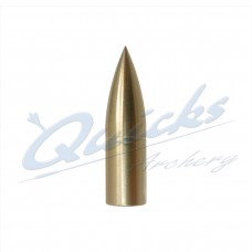 Brass Screw-On Bullet Point 5/16 100grain (each) :  QP11