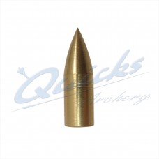 Brass Screw-On Bullet Point 11/32 100grain (each) : QP13