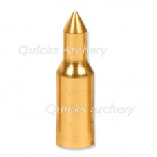 Brass 3D Taper Fit Point 11/32 100grains (each) : QP23