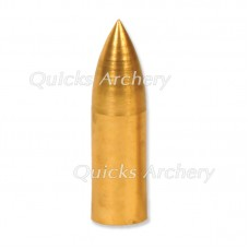 Brass Parallel Fit Bullet Point 11/32 100grain (each) : QP33100