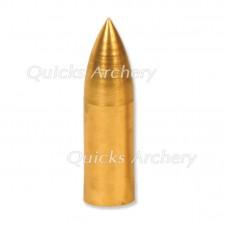 QP28 Brass Bullet Point Taper Fit 5/16 125grain (each)