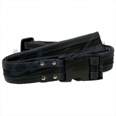 Longshot Belt in All black : QQ56