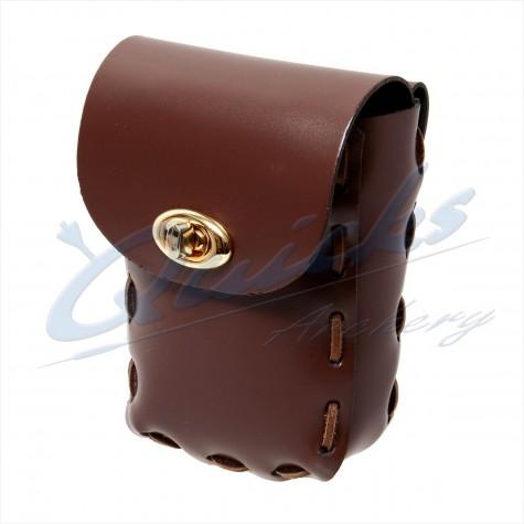 Longshot Traditional Leather Belt Pouch : QQ79Quivers & BeltsQQ79