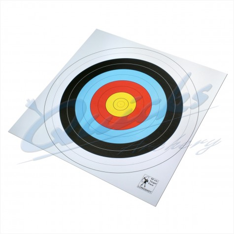 Longshot 60cm Paper 10 zone (Pack of 100) DISCOUNTED PRICE : QT12ARoundelQT12AX100