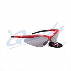 Rayzor Sports Sunglasses R137RESM Red frames with smoke windshield lens : RC37rsm