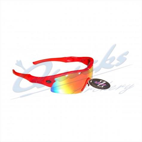 Rayzor Sports Sunglasses Ventz Model RI220RERE Red frames red lens : RC22rereSunglassesRC22RERE