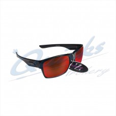 Rayzor Sports Sunglasses Wayvz Model RI424BKRE Black frames red lens : RC10bk