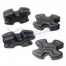 SA85 Sims Limbsaver TWISTLOX for Split Limb Compound bows : Black (pack of 4)