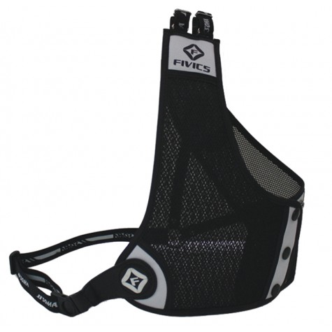 Fivics A2 Chestguard : Mesh material is all black colour options refers to trim : SC24ChestguardsSC24