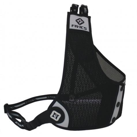 Fivics A2 Chestguard : Mesh material is all black colour options refers to trim : SC24ChestguardsSC24