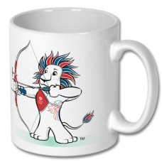 Team GB Archery Mug : Officially Licensed Merchandise White mug with archery logo and Team GB logo: TA08