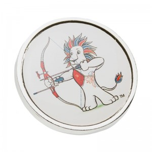 Team GB Pride Lion Archery Pin : Officially Licensed Merchandise Pin Badge with archery logo and Team GB logo: TA09