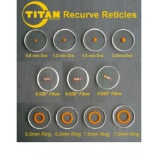 TV13 Gunstar Sighting Solutions Precision Self Adhesive Circles and Dots (Lens shown not included)