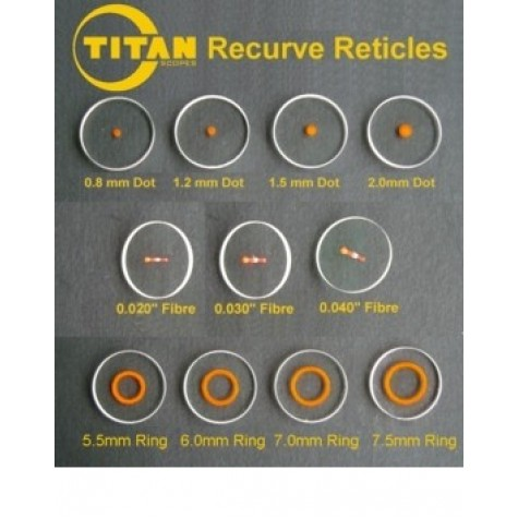 Gunstar Sighting Solutions Precision Self Adhesive Circles and Dots (Lenses shown not included) : TV13Sight PinsTV13