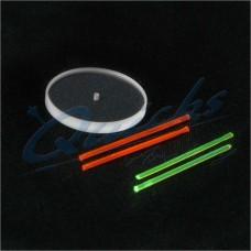 "TV25 Titan Recurve Scope Sight Pin Spare X-Vision LENS only (0.030"" fibre optic)"