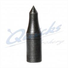 VP05 Blue Steel Longnosed Taper Fit Field Point 5/16 70grain (each)