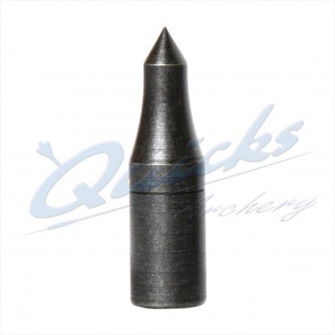 Blue Steel Longnosed Taper Fit Field Point 5/16 70grain (each) : VP05Points For Wood ArrowsVP05