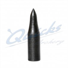 Blue Steel Longnosed Taper Fit Field Point 5/16 125grain (each) : VP06