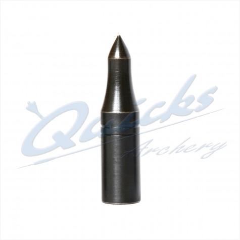 Blue Steel Longnosed Taper Fit Field Point 5/16 100grain (each) : VP07Points For Wood ArrowsVP07
