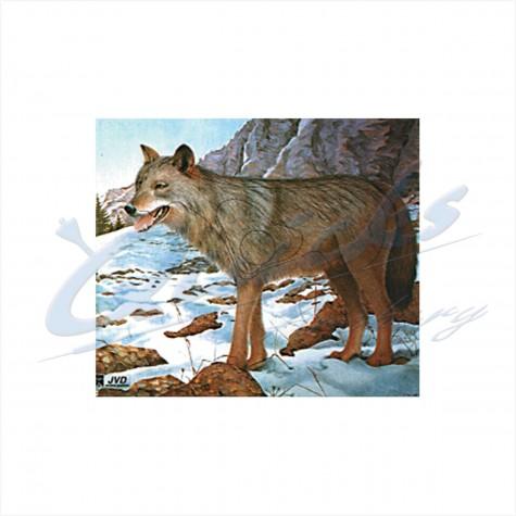 JVD Target Face Wolf : VT20AnimalVT20