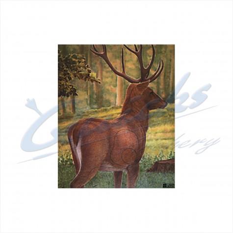 JVD Target Face Large Deer : VT23AnimalVT23
