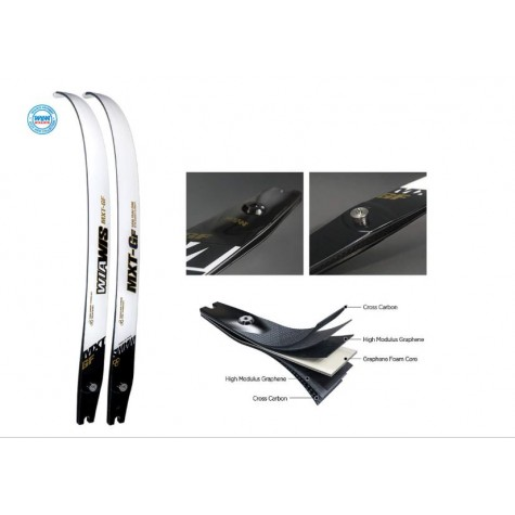 Win & Win Wiawis MXT-GF Carbon/Graphene limbs : WB59 :