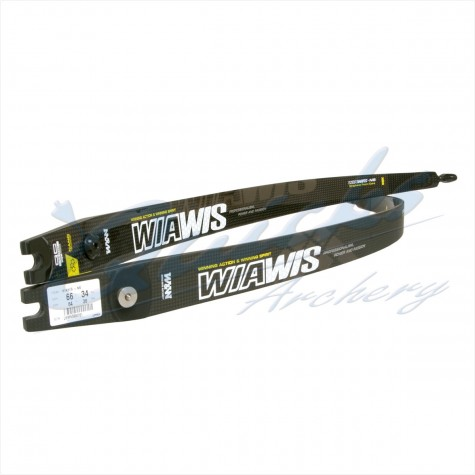 Win & Win Wiawis NS Carbon/Graphene Foam Core limbs : WB69Recurve Target BowsWB69