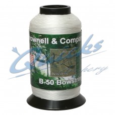 WD05 Brownells B50 White Waxed Dacron 1lbs Spool