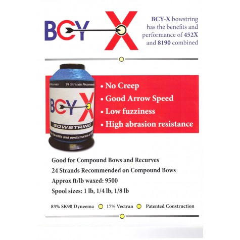 BCY-X String Materials 1/8lb spool : Was £34.50 : WD42Sale OffersWD42