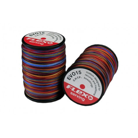 Stringflex Evo 15 Hi Tech Multicoloured Serving : WD97Serving ThreadWD97