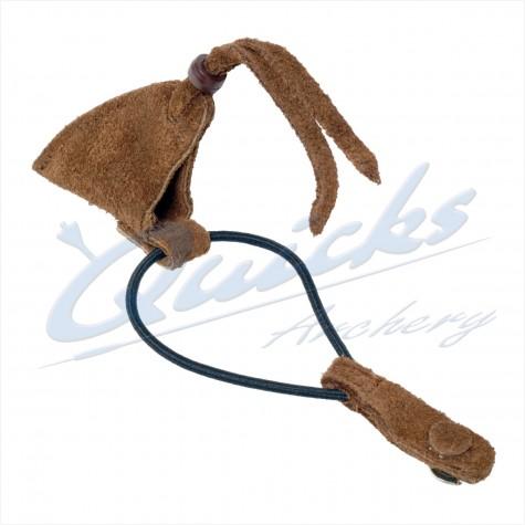 Longshot Sherwood Suede Longbow String Keeper : XA01All Trad AccessoriesXA01