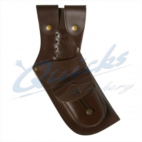 Longshot Traditional Leather Holster Quiver : XQ17Quivers & BeltsXQ17