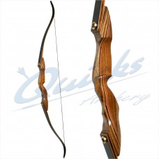 ZB17 Longshot Archery - Aspire - Take Down Field Recurve Bow : 62 Inch