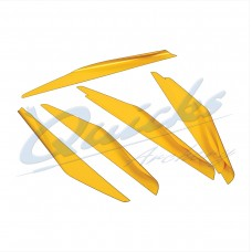 ZF41 WEBSHOP SPECIAL Elite Spinwing Vanes, 5 inch Vanes (pack 50) : LH ONLY : SALE PRICE
