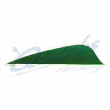 ZF46 Quicks French Curve Trueflight RW Feathers 2 3/4 Inch (per doz)