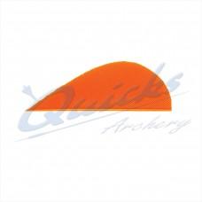 ZF47 Trueflight Turkey Feathers 1 5/8 Inch Dumpy (per doz)