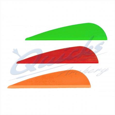 AAE Plastifletch EP Vanes (per doz) : ZF50Plastic Vanes ZF50