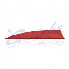 ZF61 Trueflight Shield Pattern Feather 4 Inch (per doz)