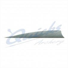 ZF62 Trueflight Shield Pattern Feather 5.5 Inch (per doz)
