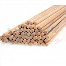 ZS50 11/32 Hemlock Fir Wood Shafts : 31.75 inch long (per 12)